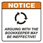 Bookkeeper / Argue