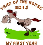 Born Year of The Horse 2014 T-Shirts