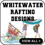 Whitewater Rafting T-Shirt Rafting T-Shirts Gifts