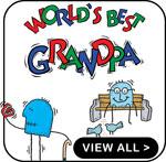 New Grandpa T-Shirts Personalized New Grandpa Gift