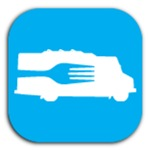 Food Truck: Side/Fork (Blue)