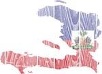 Haiti Flag And Map