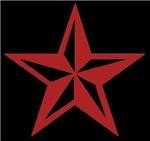 Red Nautical Star