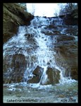 Lake Erie Waterfall
