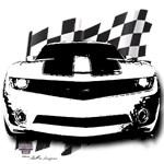 Drag Racing Camaro