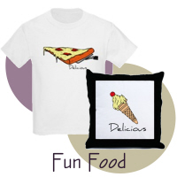 Food Shirts and Gifts