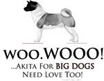 Akita Big Dogs Need Love