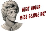 What would Miss Beadle do? (closeup)