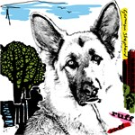 Urban German Shepherd