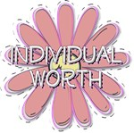 Individual Worth - Young Women Value LDS YW Red Fl
