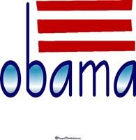 obama blue