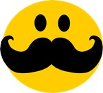 Mustached Smiley