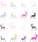 Pink Deer Pattern