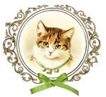 Vintage cute kitten