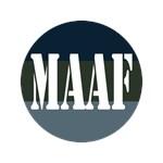 MAAF logo on everything
