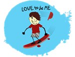 SKATEBOARDER - LOVE TO BE ME