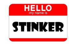 HELLO, MY NAME IS STINKER