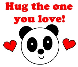 HUG THE ONE YOU LOVE
