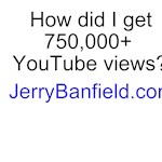 How did I get 750,000 YouTube views?