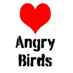 Heart Angry Birds