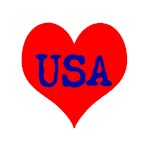 Big Heart Love USA America