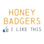 Honey Badgers I like this