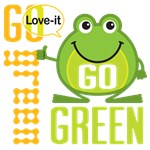 Go Green Frog