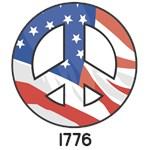 1722 Peace Flag 1776