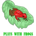 Plays With Frogs