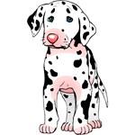 Dalmatian Puppy Cartoon