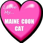 I Love My Maine Coon Cat