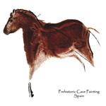 Horse Cave Painting