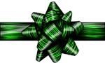 Green Zebra Bow