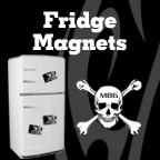 Mean Fridge Magnets