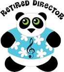 Retired Music Director Music Panda Gifts