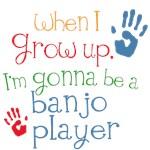 Future Banjo Player Kids Music Tees