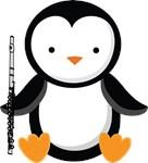 Flute Penguin Music Tee Shirts