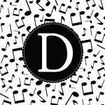 Music Monogram Letter D Gifts