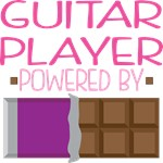 GUITAR PLAYER powered by chocolate
