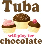 Chocolate Tuba T-shirts and gifts