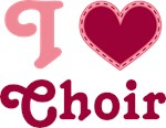 Choir Heart T-shirts and Gifts