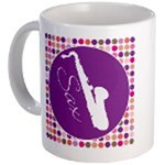 Saxophone Mugs and Sigg Bottles