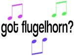 Got Flugelhorn Musical T-shirts