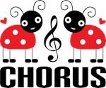 Chorus Music Gift Ladybug T-shirts