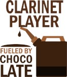 Clarinet Player Fueled By Chocolate Gifts