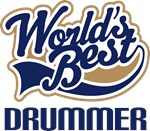 Drummer (Worlds Best) Hoodies and Gifts