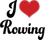 I Heart Rowing T-shirts and Gifts
