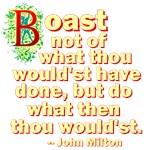 Boast Not