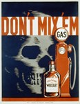Don't Mix 'Em WPA Poster