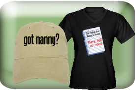 Nanny Gifts and T-Shirts